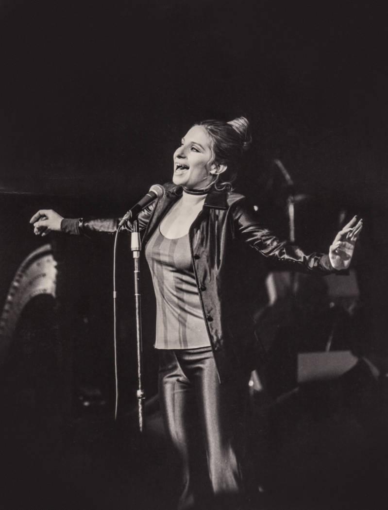 Barbra Streisand performs at the International in Las Vegas. (Westgate)