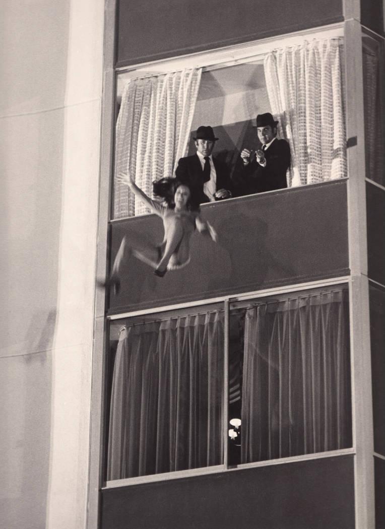 """Diamonds are Forever"" (1971) Lana Wood dummy at the Las Vegas Hilton. (Westgate)"