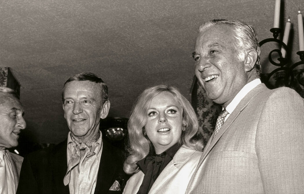 Fred Astair and Nancy Sinatra at the Las Vegas Hilton. (Westgate)