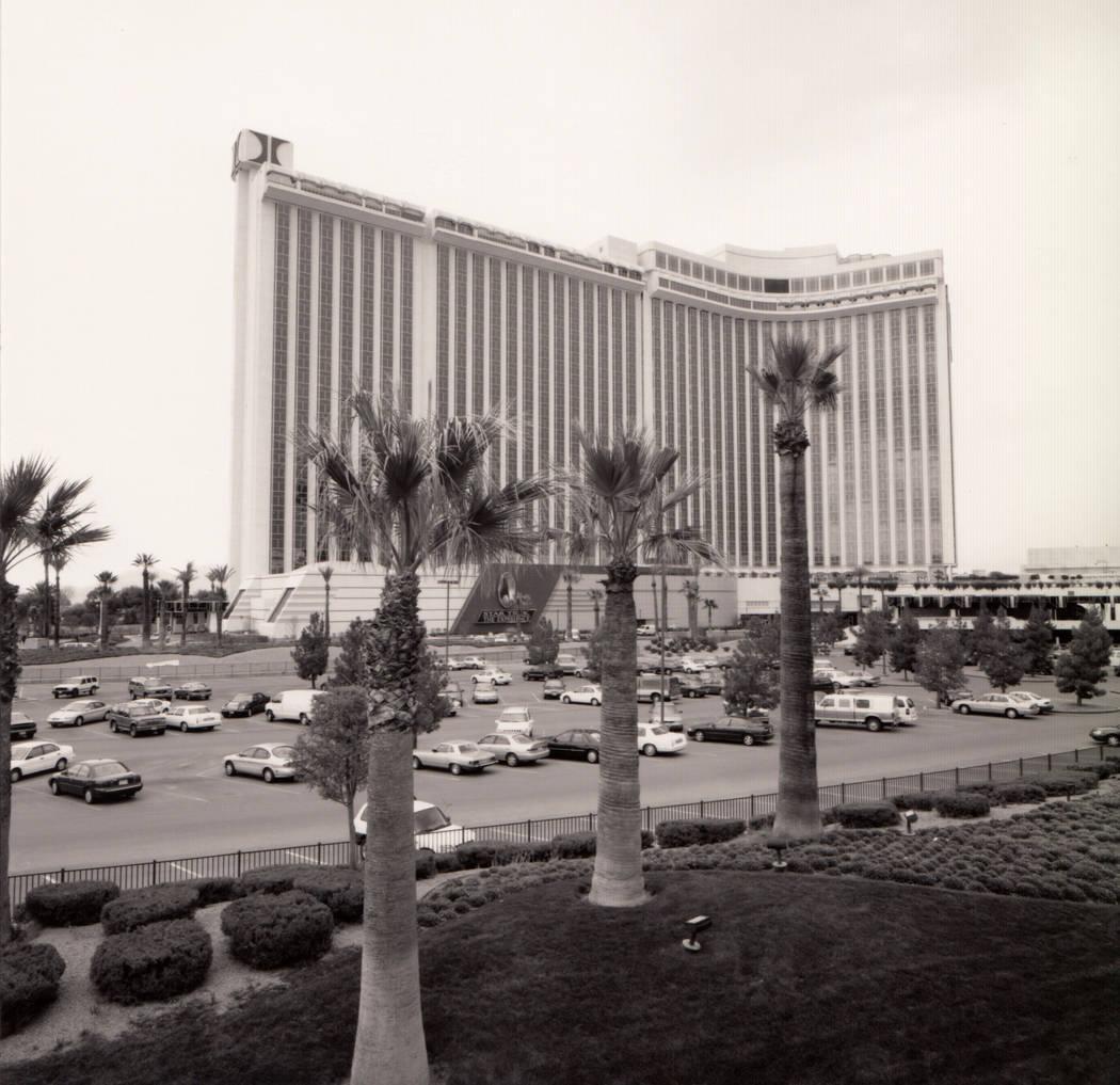 Exterior of the International in Las Vegas. (Westgate)