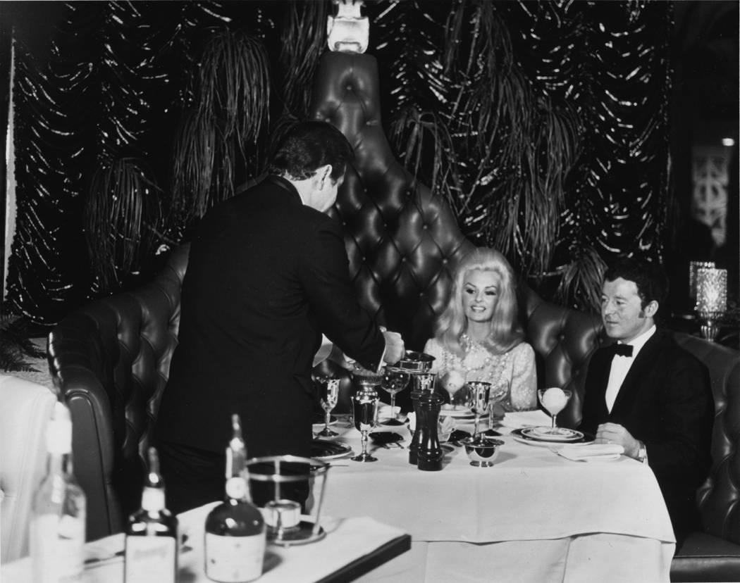 VIP dining at the International in Las Vegas. (Westgate)