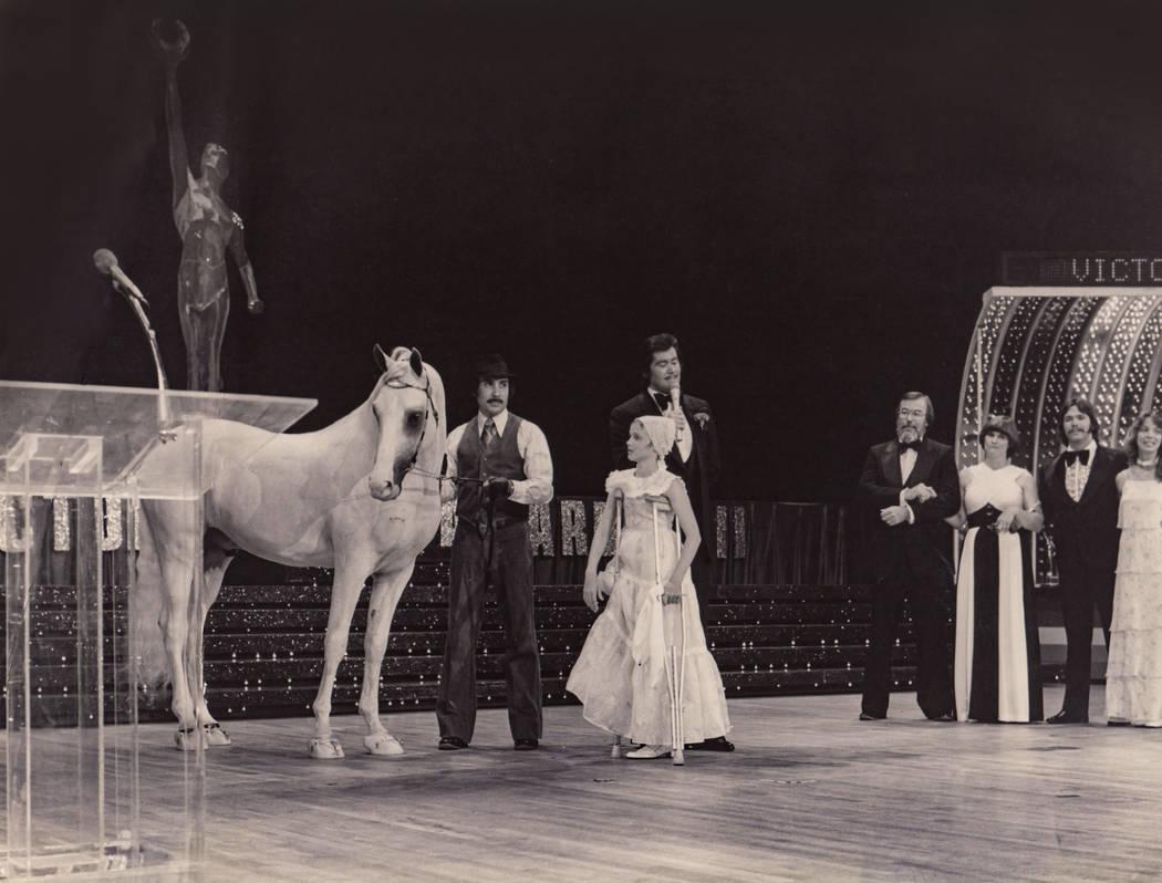 Wayne Newton performs at the Las Vegas Hilton in Las Vegas in 1978. (Westgate)