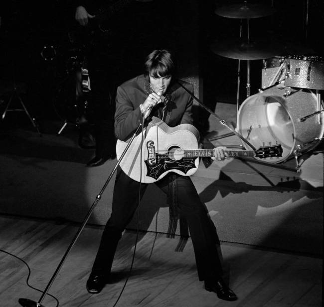 ONE TIME USE ONLY JUL21, 2019 Elvis performs at the International July 31, 1969, in Las Vegas. ...
