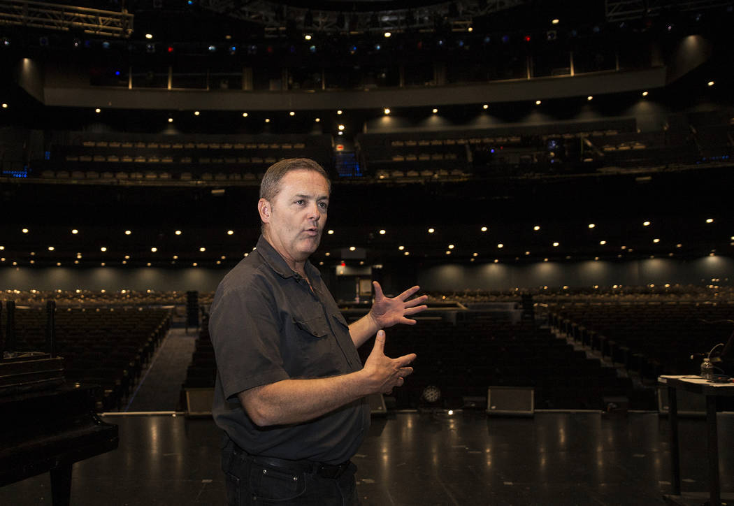 Craig Hayes, crew chief and head carpenter at the International Theater, discusses Elvis Presle ...