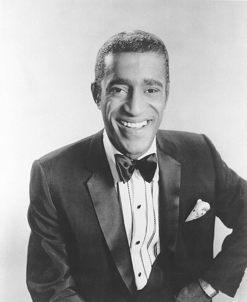 American entertainer Sammy Davis Jr. poses in this January 21, 1964 photo. (AP Photo)