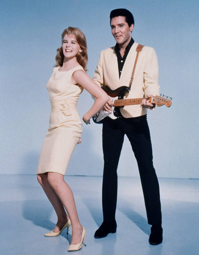 FILE*** Elvis Presley and actress Ann-Margret shown in a publicity photo for the 1964 film, &qu ...
