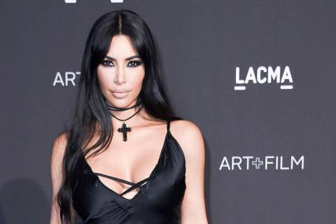 In this Nov. 3, 2018, file photo, Kim Kardashian West attends the 2018 LACMA Art+Film Gala at L ...