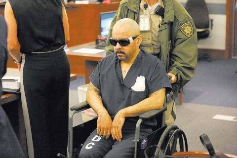 Gustavo Ramos appears in court on Friday, June 8, 2018. Michael Quine Las Vegas Review-Journal ...