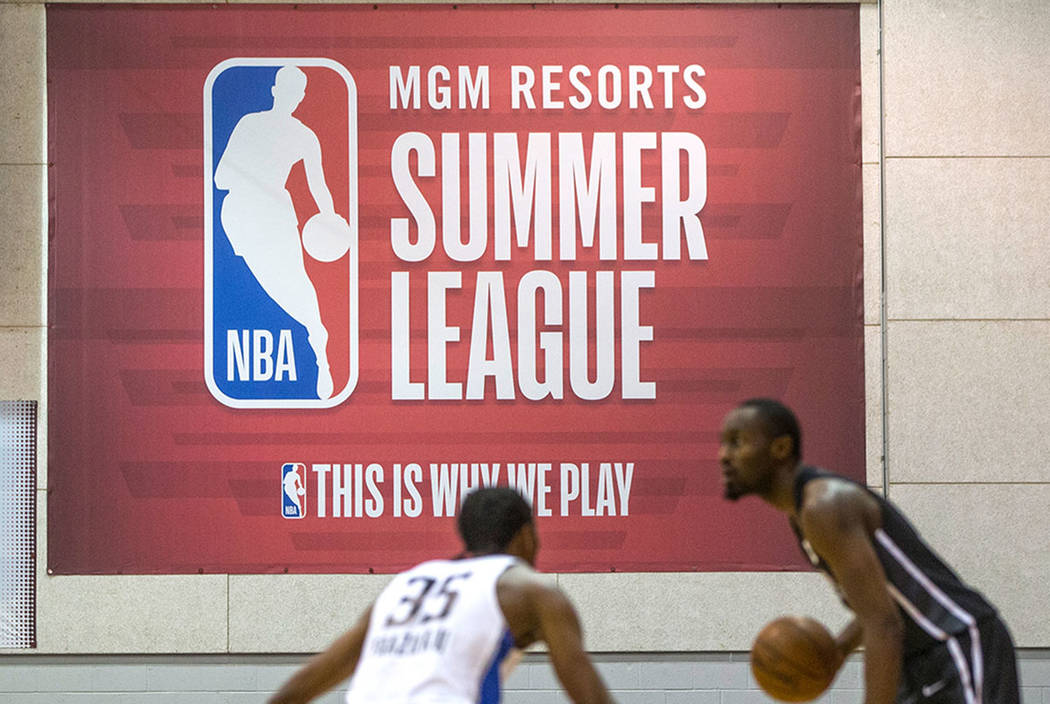 NBA Summer League on Friday, July 6, 2018, at the Thomas & Mack Center, in Las Vegas. (Benjamin ...