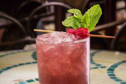 Razz-Matazz cocktail (Christopher DeVargas/MGM Resorts International)