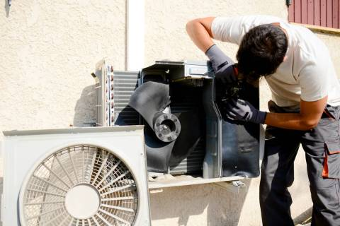 An experienced HVAC technician can detect any air-conditioning problems before they have a cha ...