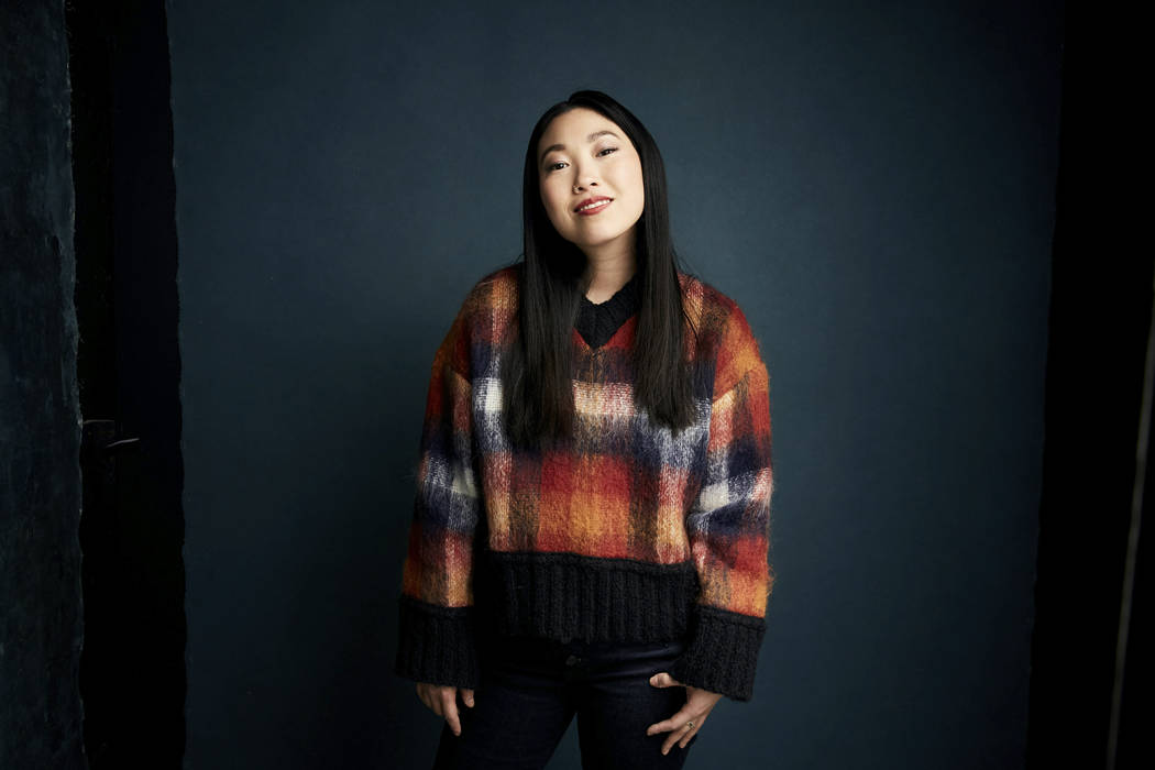 "Awkwafina poses for a portrait to promote the film ""The Farewell"" at the Salesforce M ..."