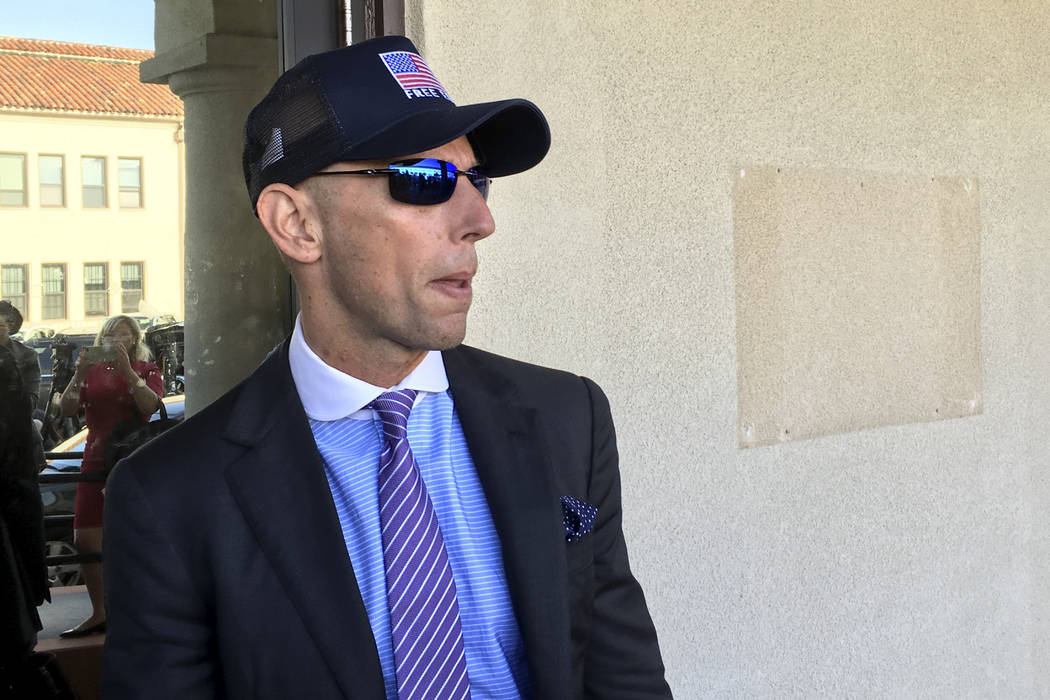 Marc Mukasey, defense lawyer for Navy Special Operations Chief Edward Gallagher, arrives to mil ...