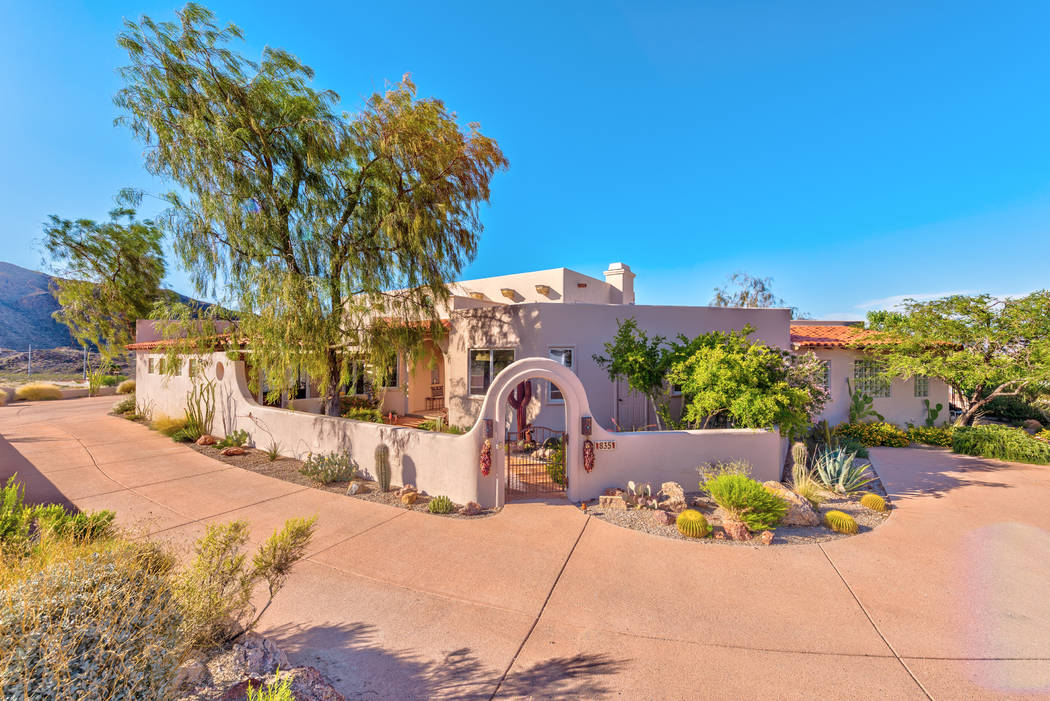 The home sits on a half-acre lot. (Desert Sun Realty)