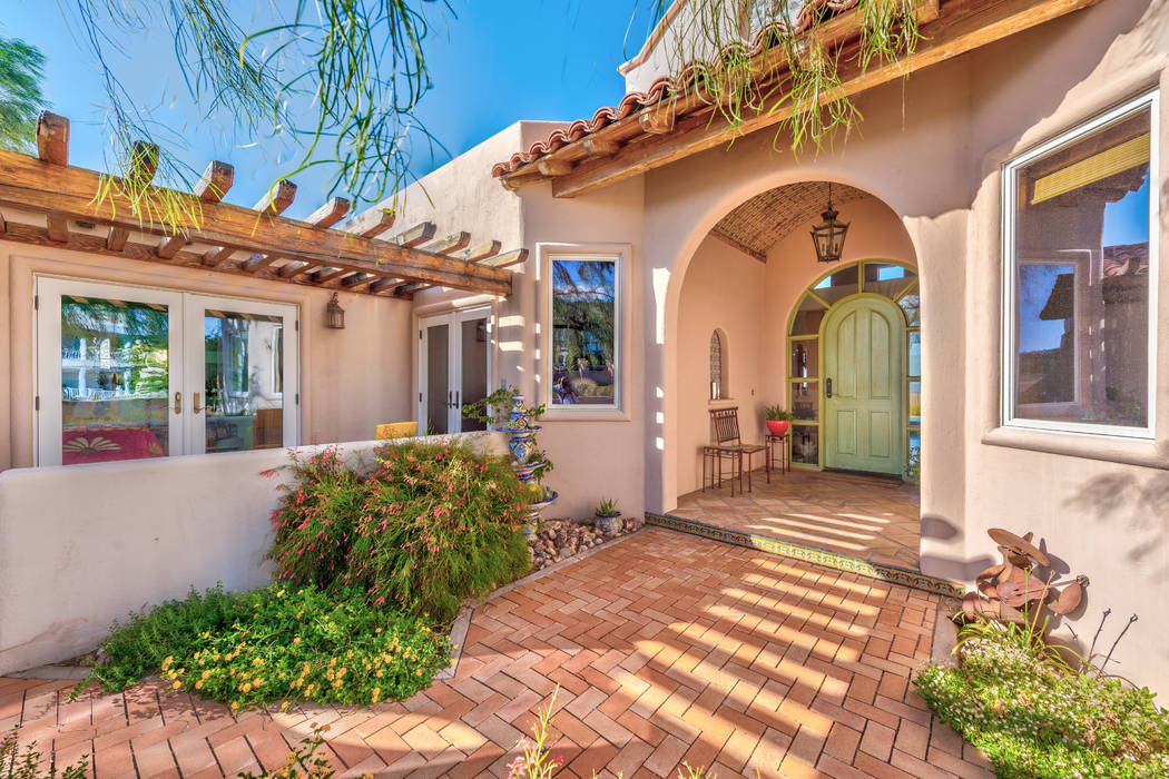 The Boulder City home of longtime Las Vegan, Linda Faiss, has been listed for $1.5 million. She ...