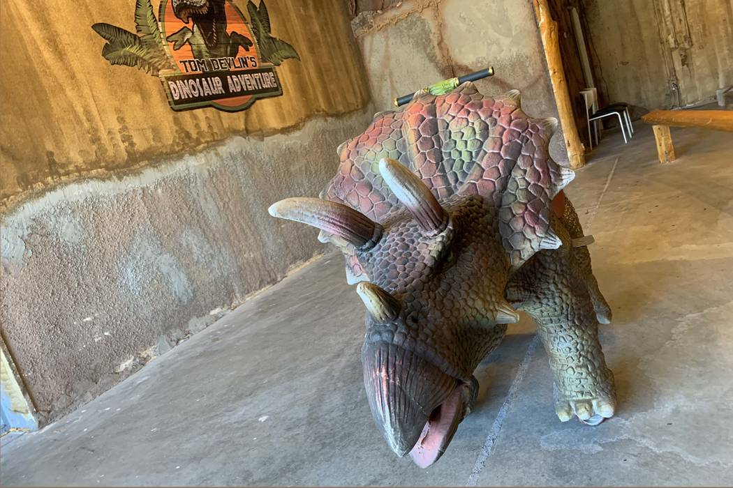 Tom Devlin's Dinosaur Adventure opened in late January. Devlin who already owns the spooky Mo ...