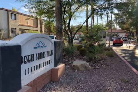 Desert Shores Villas complex, 3151 N. Soaring Gulls Drive, Las Vegas (Katelyn Newberg/Las Vegas ...