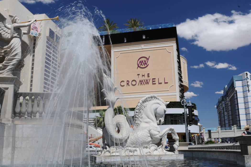 The Cromwell casino-hotel in Las Vegas is seen during the grand opening ceremony Wednesday, May ...