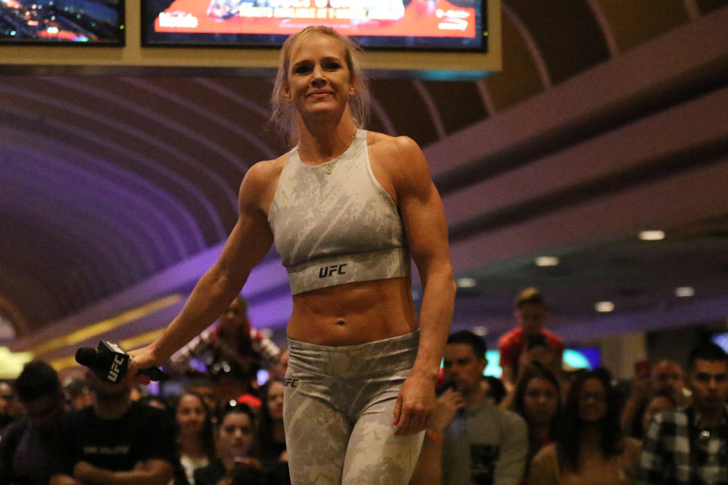 Former UFC champ Holly Holm bidding for another historic ...