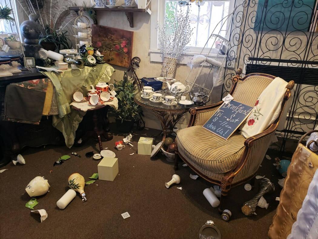 6 4-magnitude earthquake in California felt in Las Vegas