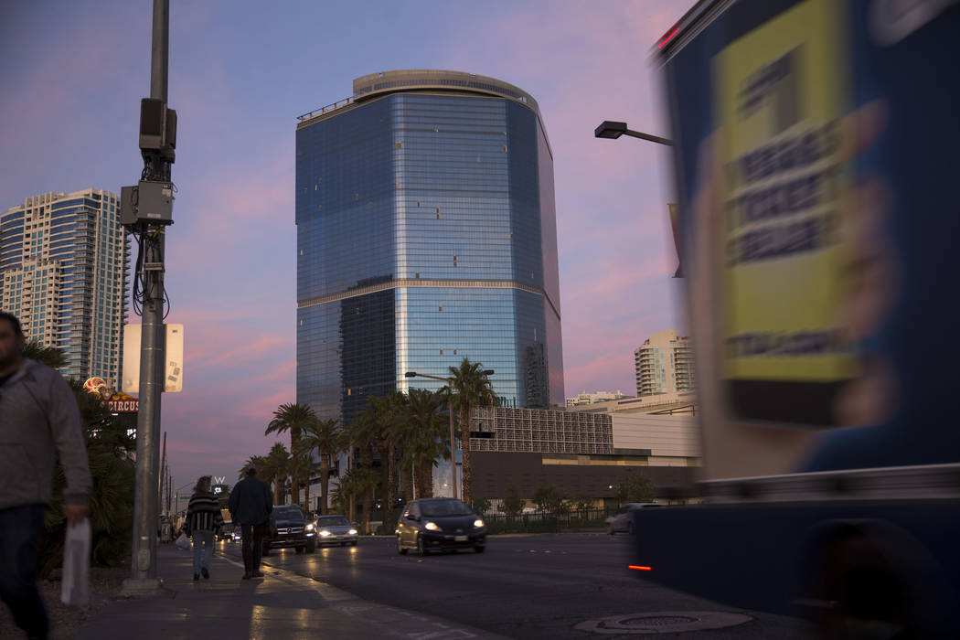 The unfinished Fontainebleau project on the Vegas Strip, Wednesday, Dec. 13, 2017. Richard Bria ...