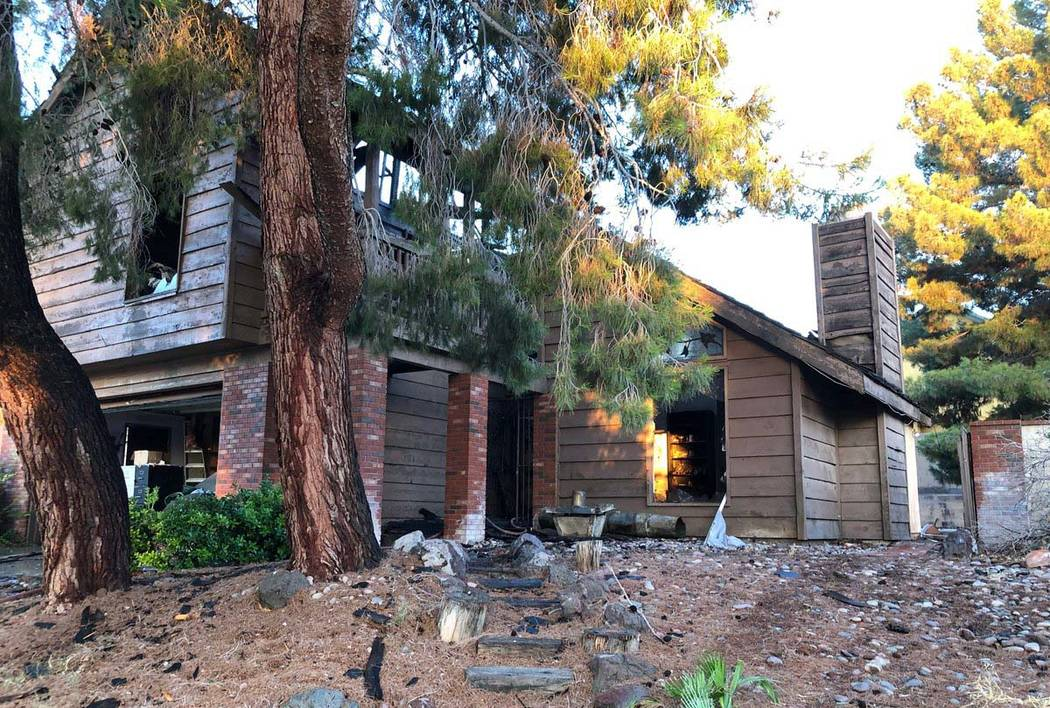The residence at 1608 Eaton Drive had been under renovation. It had not been lived in since Mar ...