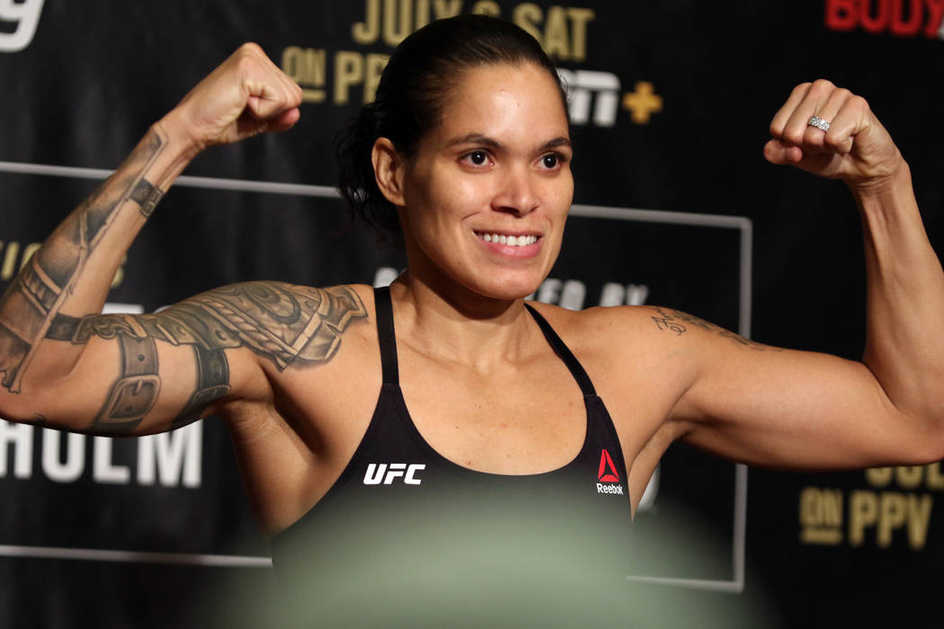 Ahead of UFC 239 on July 6 at the T-Mobile Arena, bantamweight champion Amanda Nunes weighs in ...