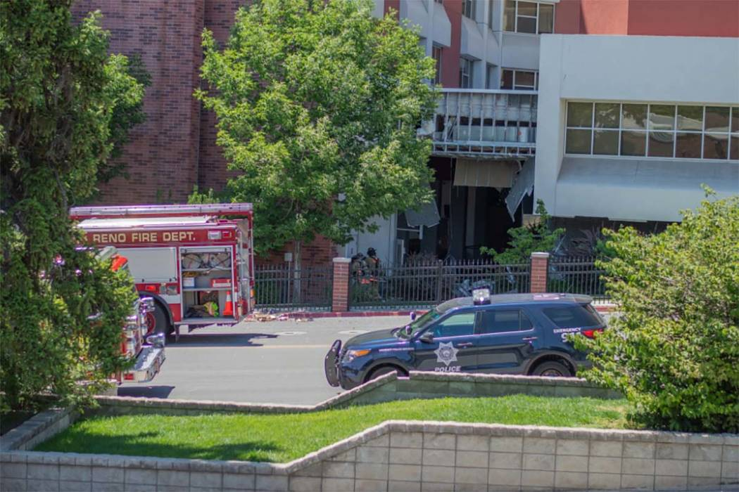 Police at the University of Nevada in Reno say there has been a utilities accident on campus, F ...