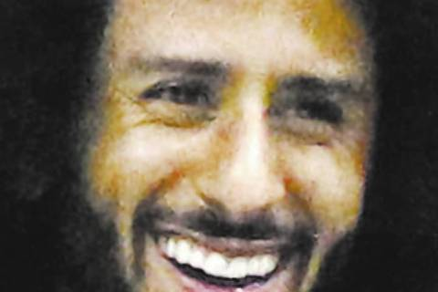 Colin Kaepernick. (Photo by Greg Allen/Invision/AP)