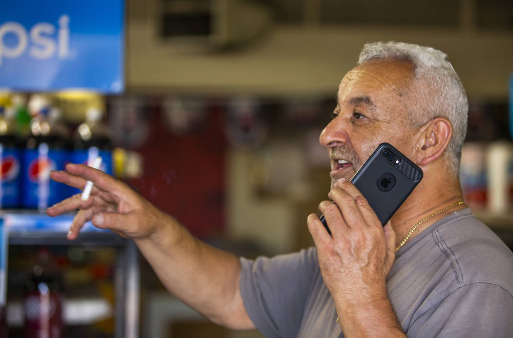 Eastridge Market Liquor Store owner Antoun Abdullatif is still positive about things while talk ...