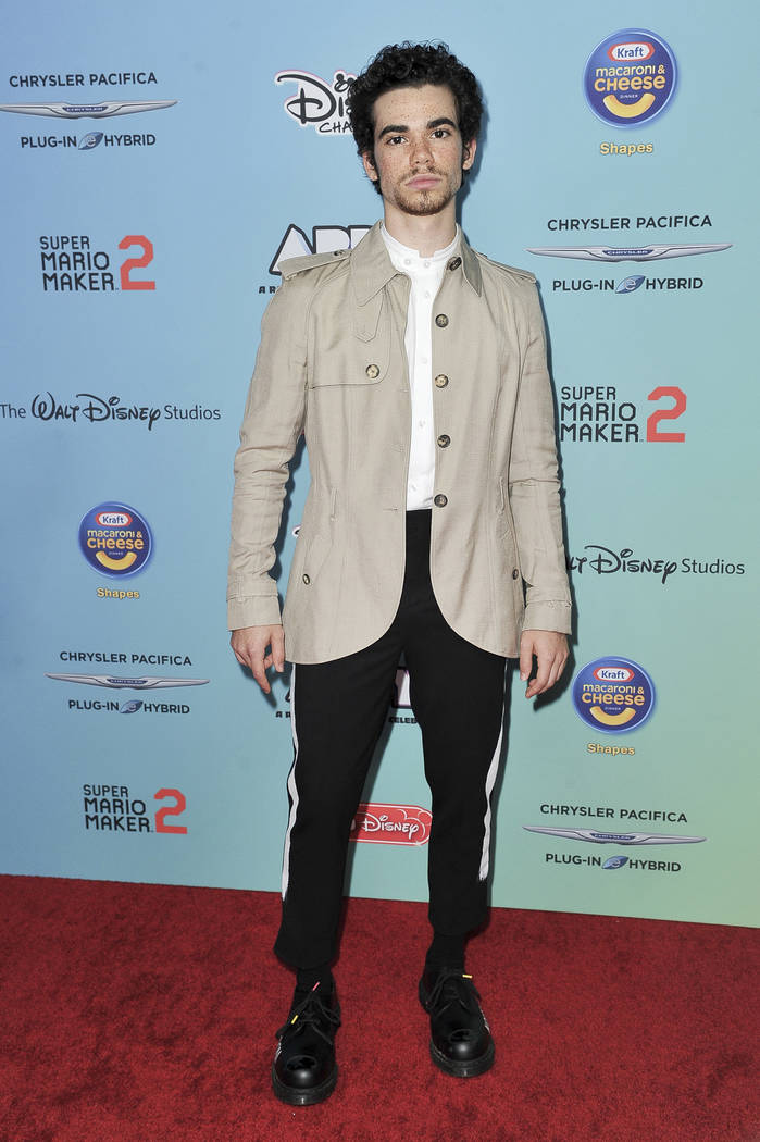 Cameron Boyce attends the 2019 ARDYs at CBS Studio Center on Sunday, June 16, 2019, in Los Ange ...