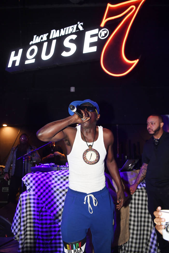 LAS VEGAS, NV - JULY 06: Flavor Flav performs at the Jack Daniel's House No. 7 party on July 6 ...