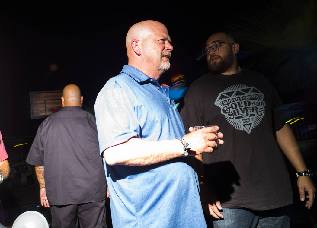 "Rick Harrison, of ""Pawn Stars,"" attends the Jack Daniel's House No. 7, a pop-up exper ..."