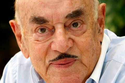 FILE - In this Monday, July 28, 2008 file photo, Artur Brauner, a Polish-born Holocaust survivo ...