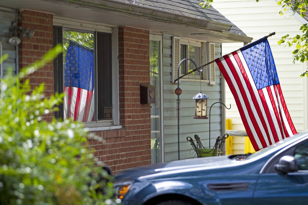 FILE - In this Oct. 5, 2016 file photo, the house of Harold Thomas Martin III is seeing in Glen ...