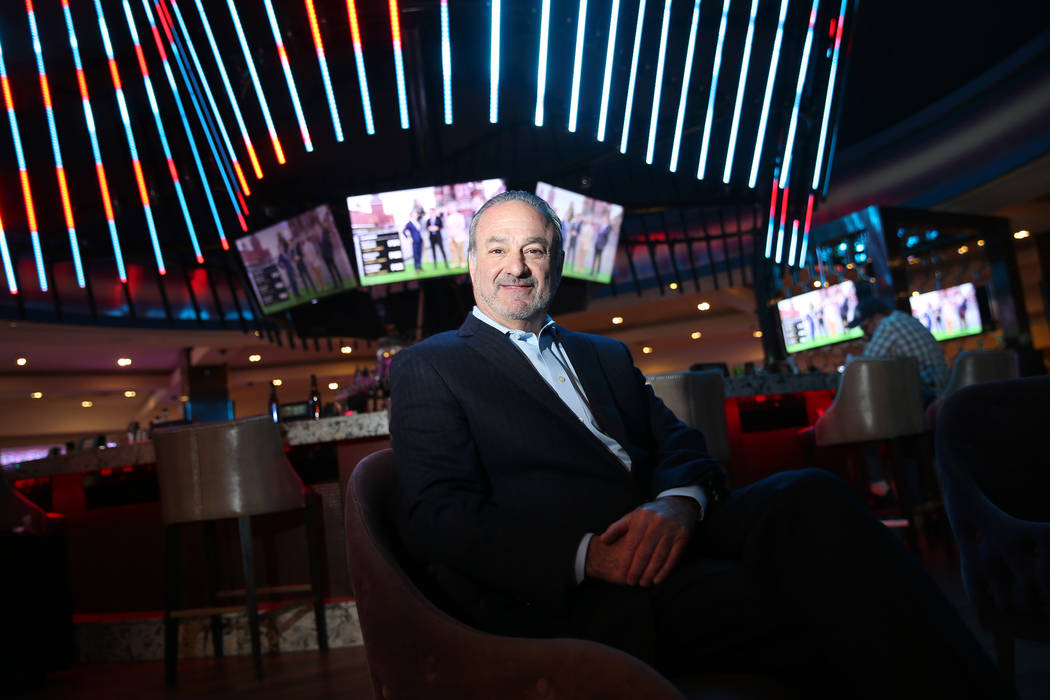 "Hard Rock CEO Richard ""Boz"" Bosworth at the Las Vegas hotel, June 14, 2018. (Erik Verduzco Las ..."