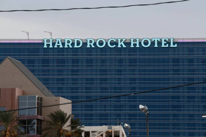 Hard Rock Hotel Las Vegas. (Erik Verduzco Las Vegas Review-Journal)