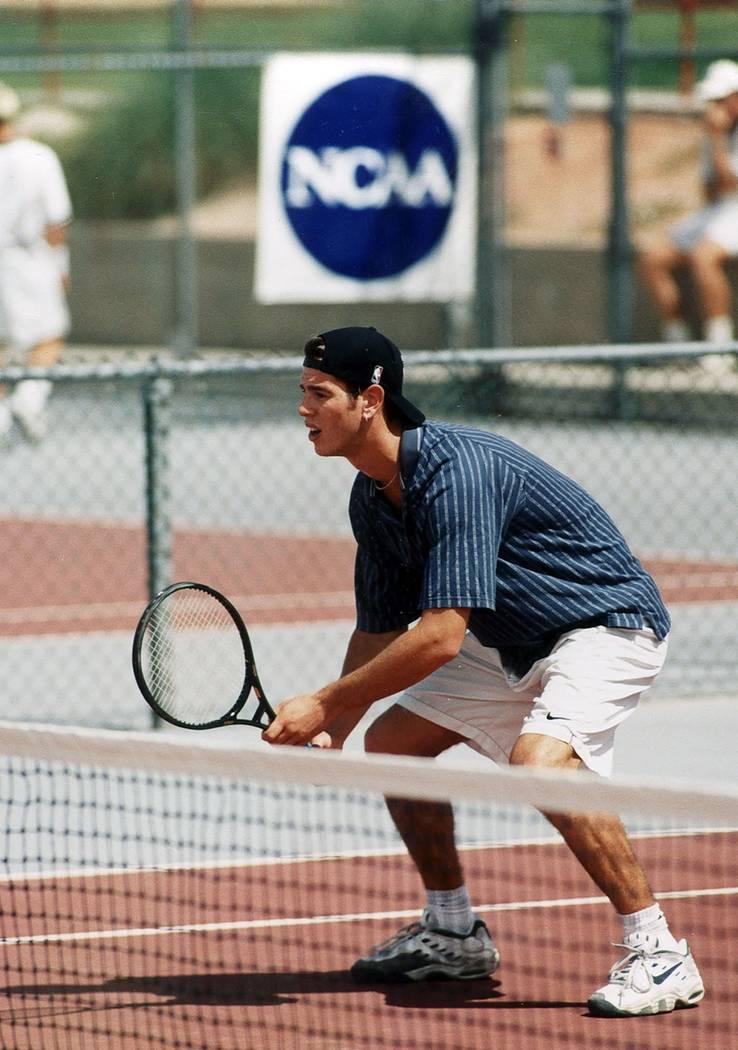 Tim Blenkiron during his days at UNLV. (UNLV Athletics)