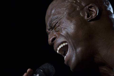 The British singer Seal performs at the Rock in Rio music festival in Rio de Janeiro, Brazil, S ...