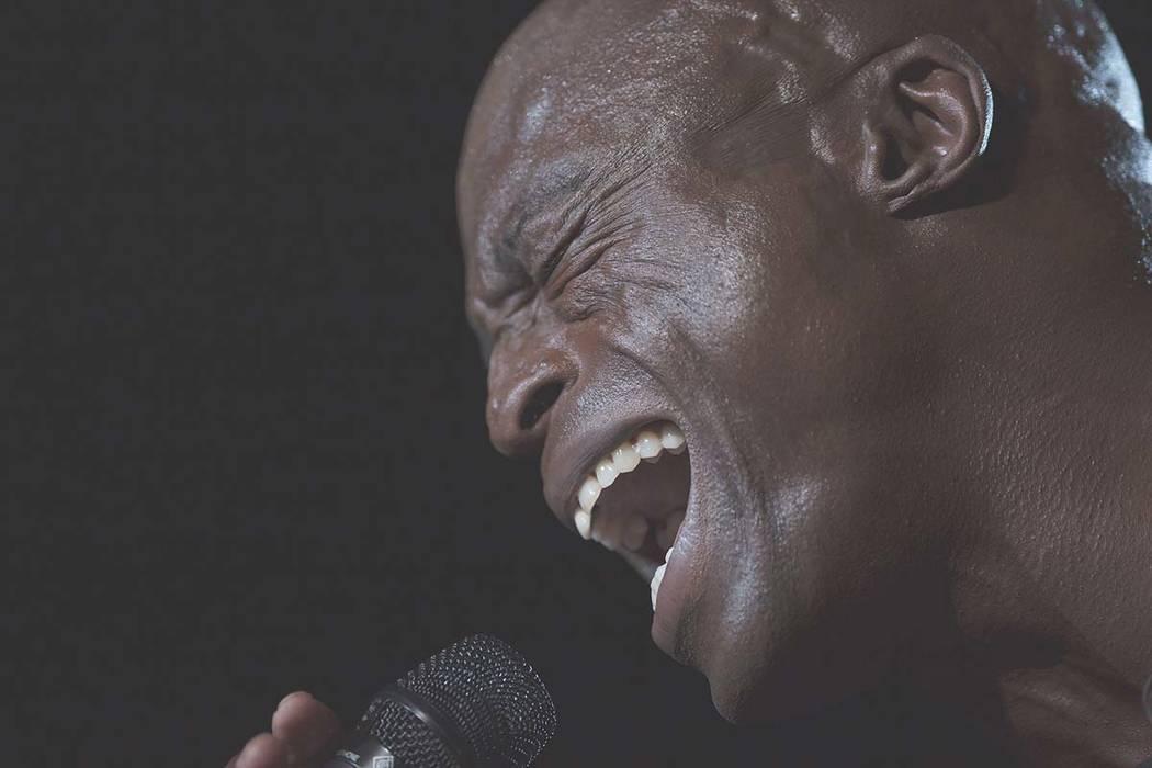 The British singer Seal performs at the Rock in Rio music festival in Rio de Janeiro, Brazil, S ...
