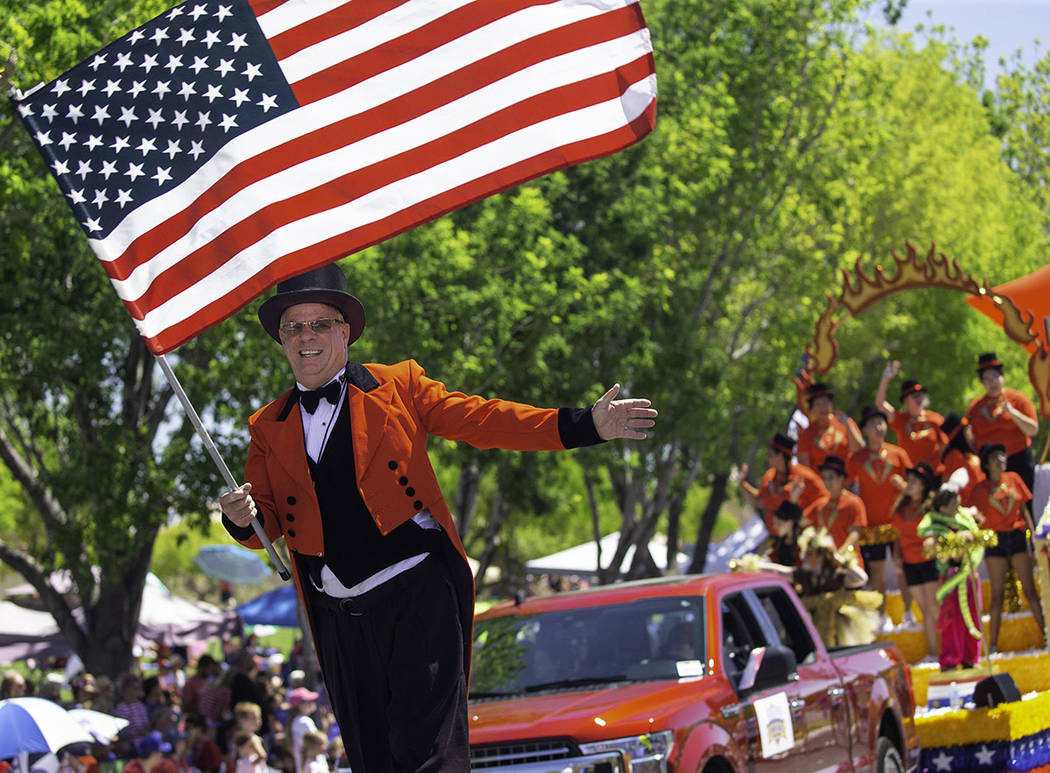 Summerlin Summerlin annual Fourth of July parade celebrated 25 years.