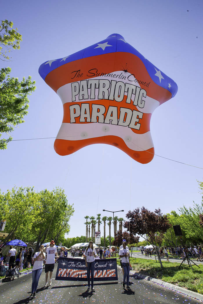 Summerlin The parade was organized by The Summerlin Council, the nonprofit arm of the Summerlin ...