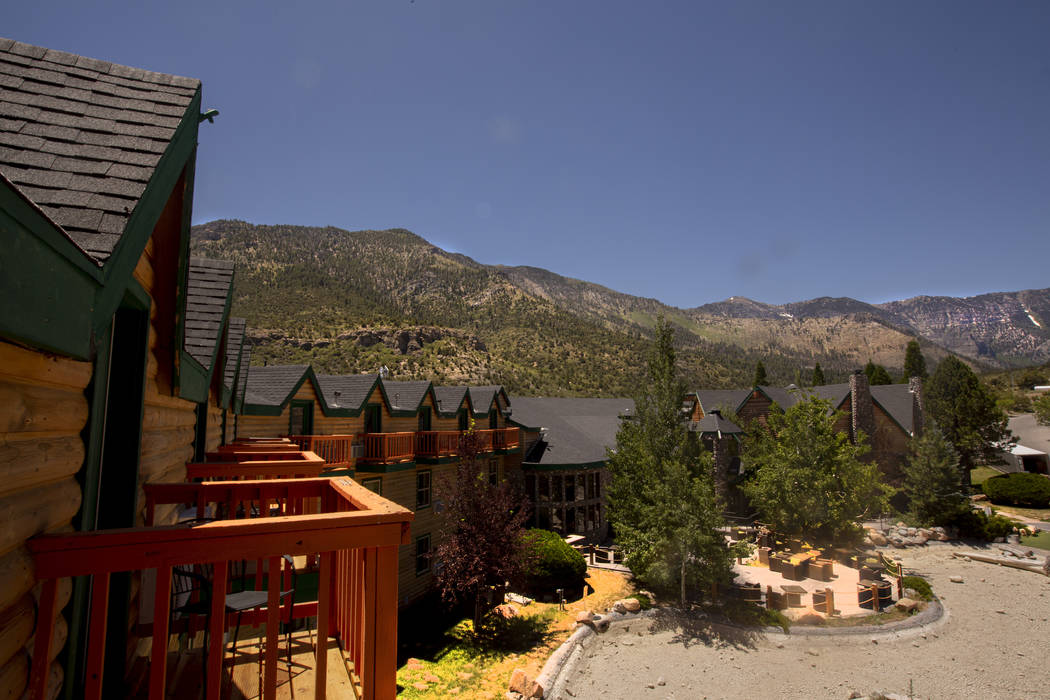 A third floor view of the The Resort on Mount Charleston on Wednesday, July 10, 2019 in Mount C ...