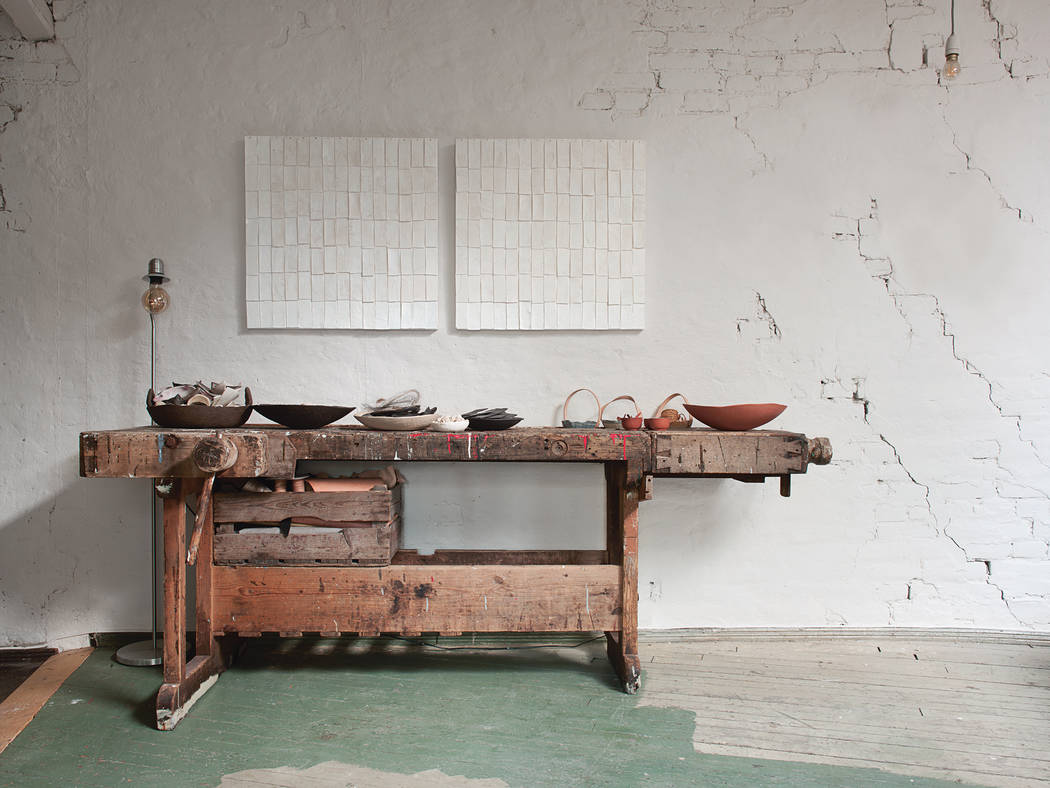 This potter's studio is in Oslo Norway. (Joanna Maclennan)