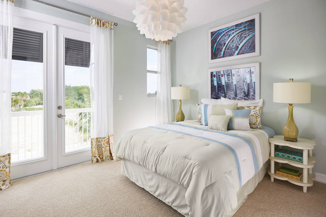 Many homeowners prefer carpeting in the bedroom because it absorbs sound and makes the room mor ...