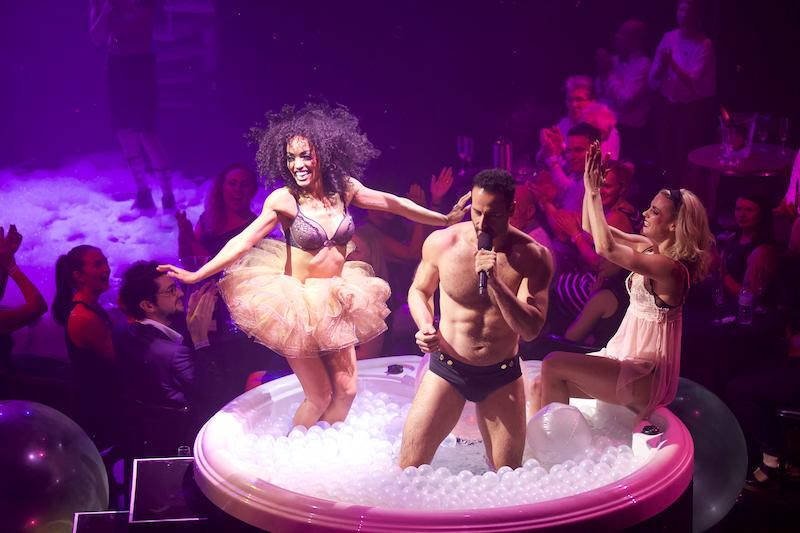 """A scene from """"Blanc de Blanc,"""" which opens at the Foundry at SLS Las Vegas/Sahara on Friday ..."""