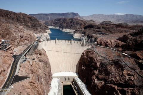 Hoover Dam (Bizuayehu Tesfaye/Las Vegas Review-Journal) @bizutesfaye