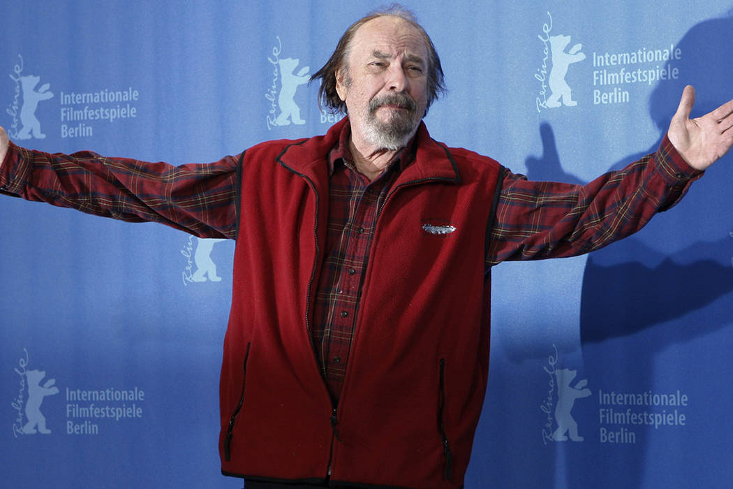 FILE - In this Wednesday, Feb. 11, 2009, file photo, U.S. actor Rip Torn poses during a photo c ...