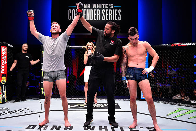 For the first time in the three-season history of Dana White's Contender Series, every fighter ...