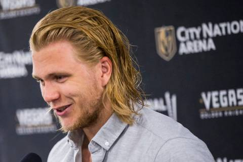Vegas Golden Knights fans will be able to take William Karlsson home this season in the form of ...